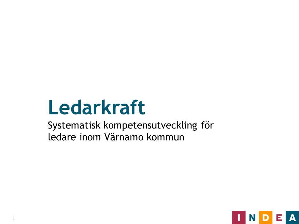 Ledarkraft Systematisk kompetensutveckling för