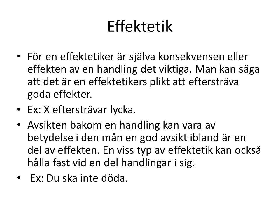 Effektetik