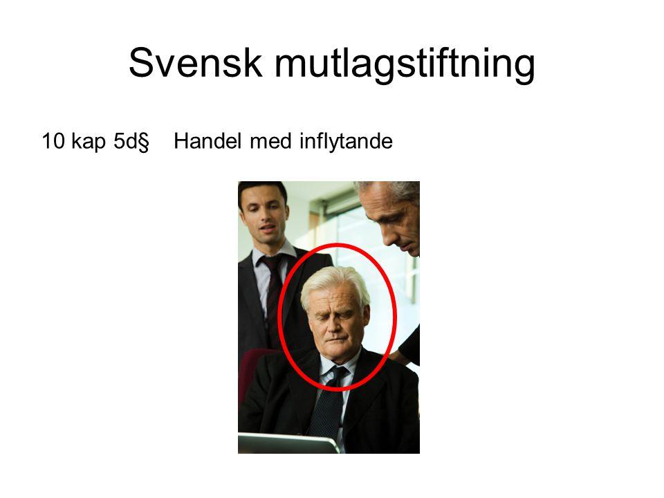 Svensk mutlagstiftning