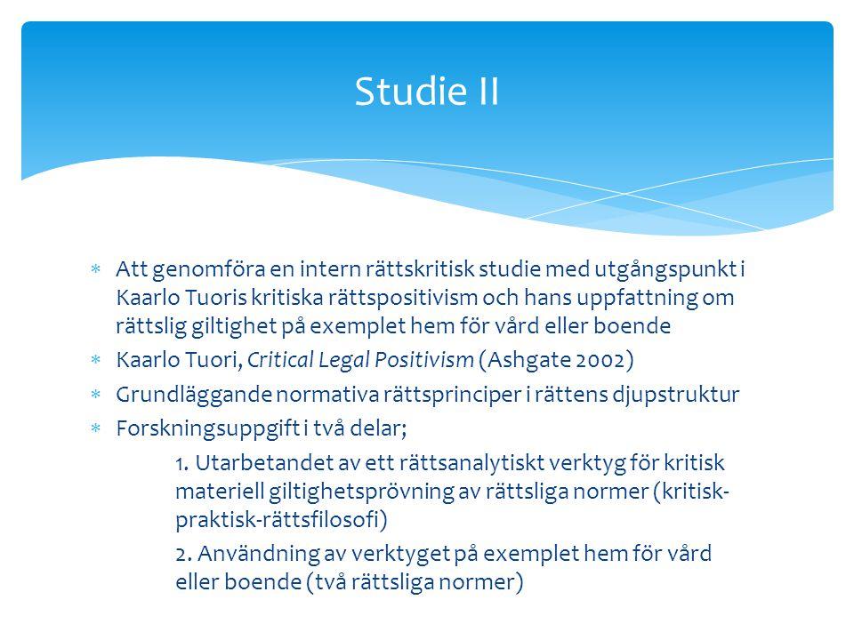 Studie II