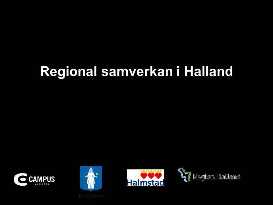Regional samverkan i Halland