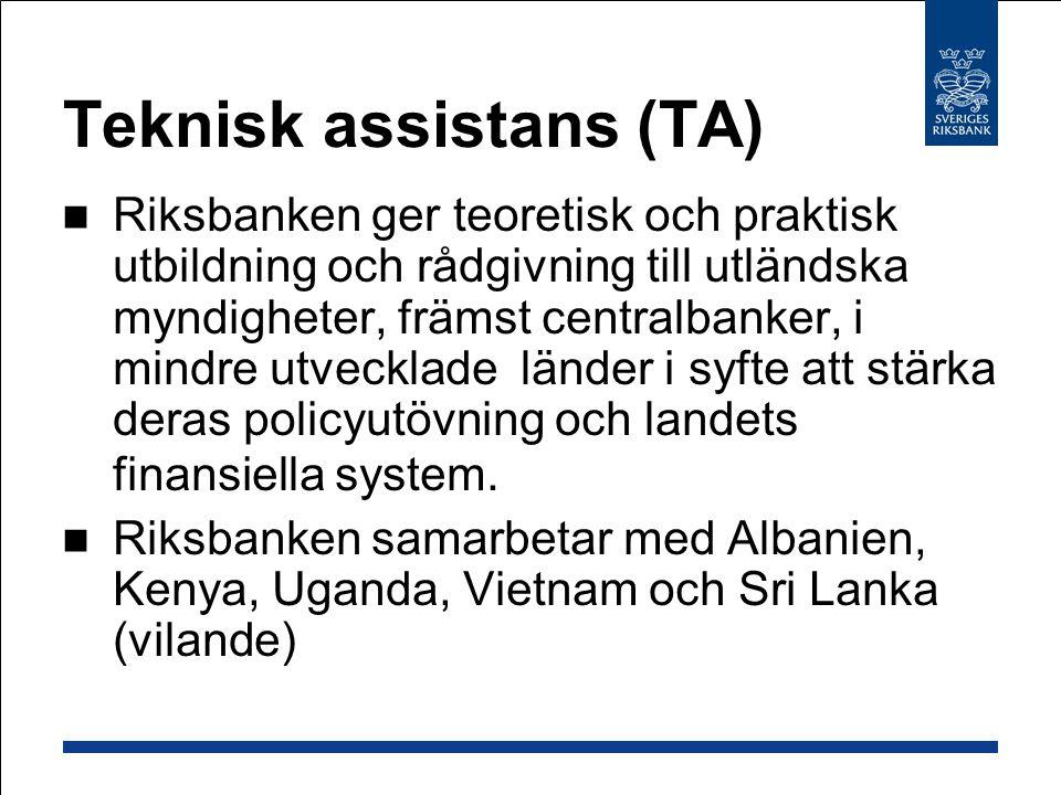 Teknisk assistans (TA)