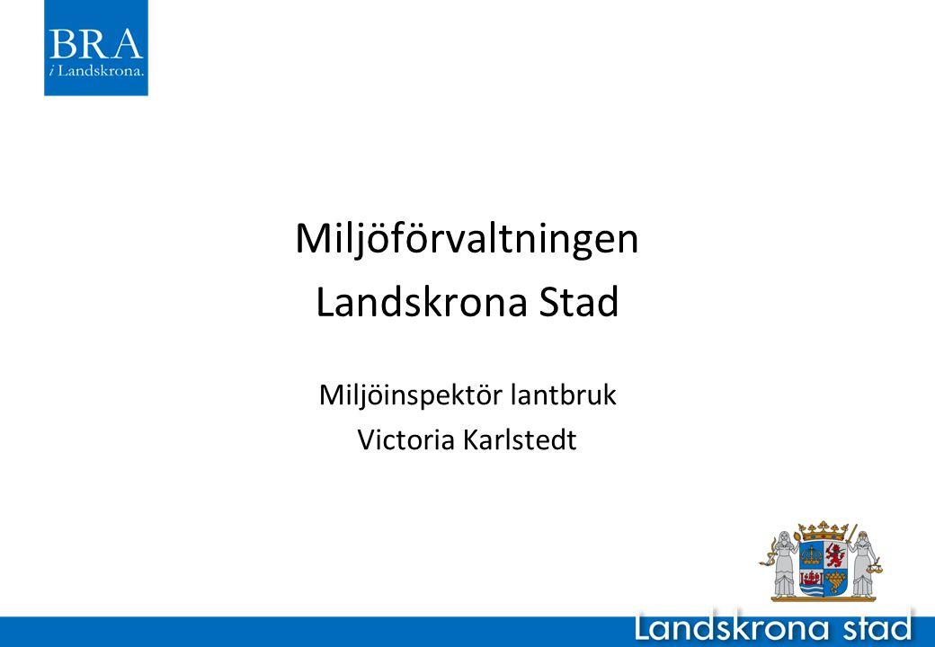 Miljöförvaltningen Landskrona Stad
