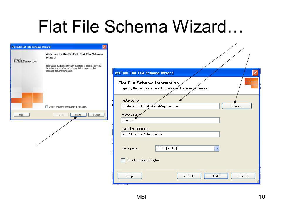 Flat File Schema Wizard…