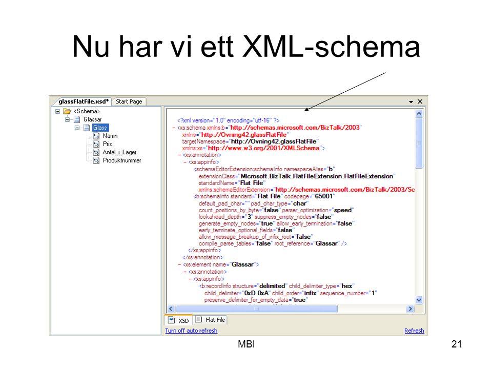 Nu har vi ett XML-schema
