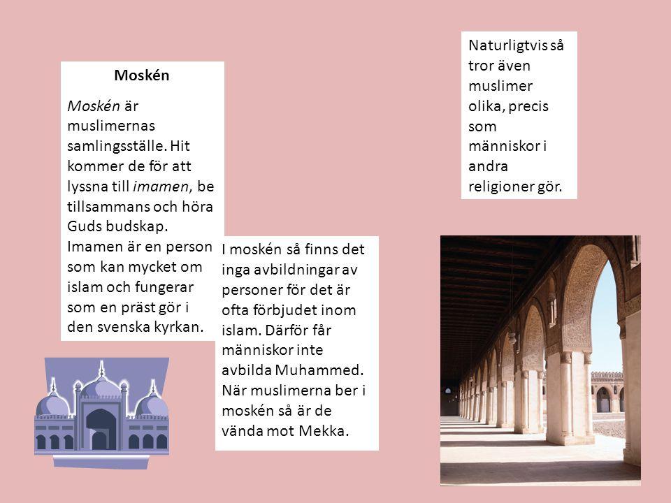 Naturligtvis så tror även muslimer olika, precis som människor i andra religioner gör.