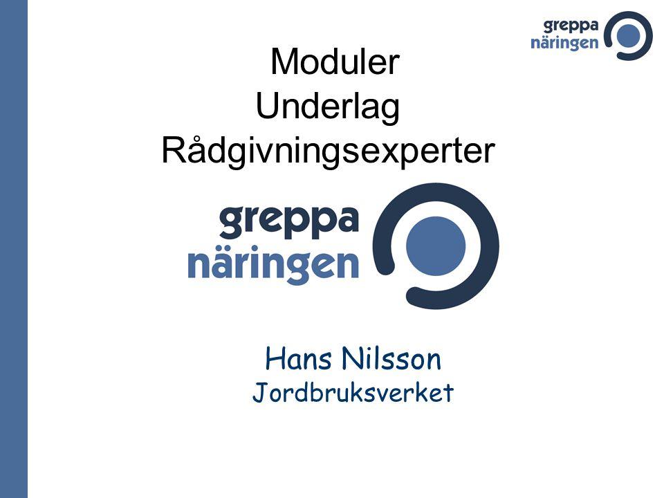 Hans Nilsson Jordbruksverket