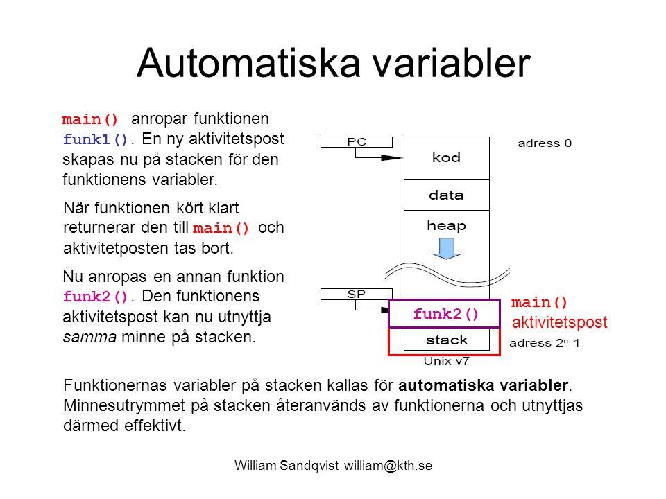 Automatiska variabler