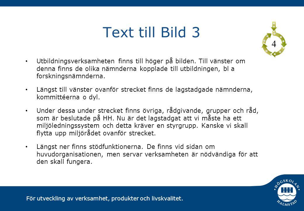 Text till Bild 3 4.