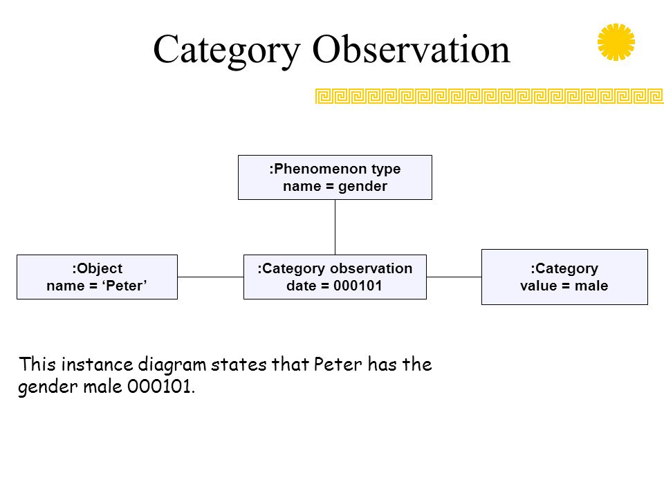:Category observation