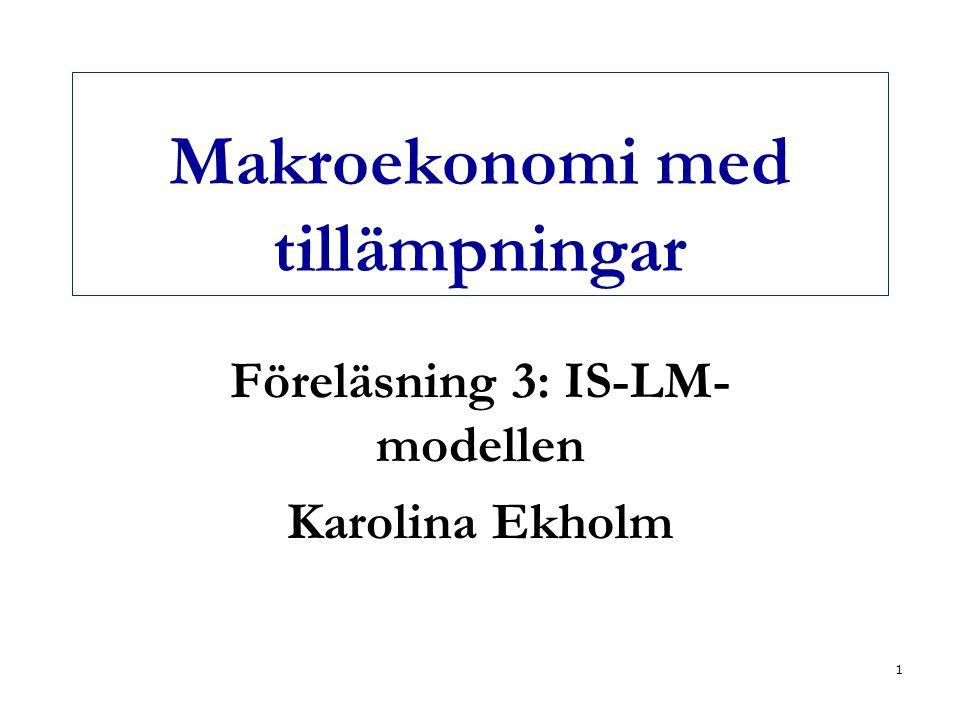 Makroekonomi med tillämpningar
