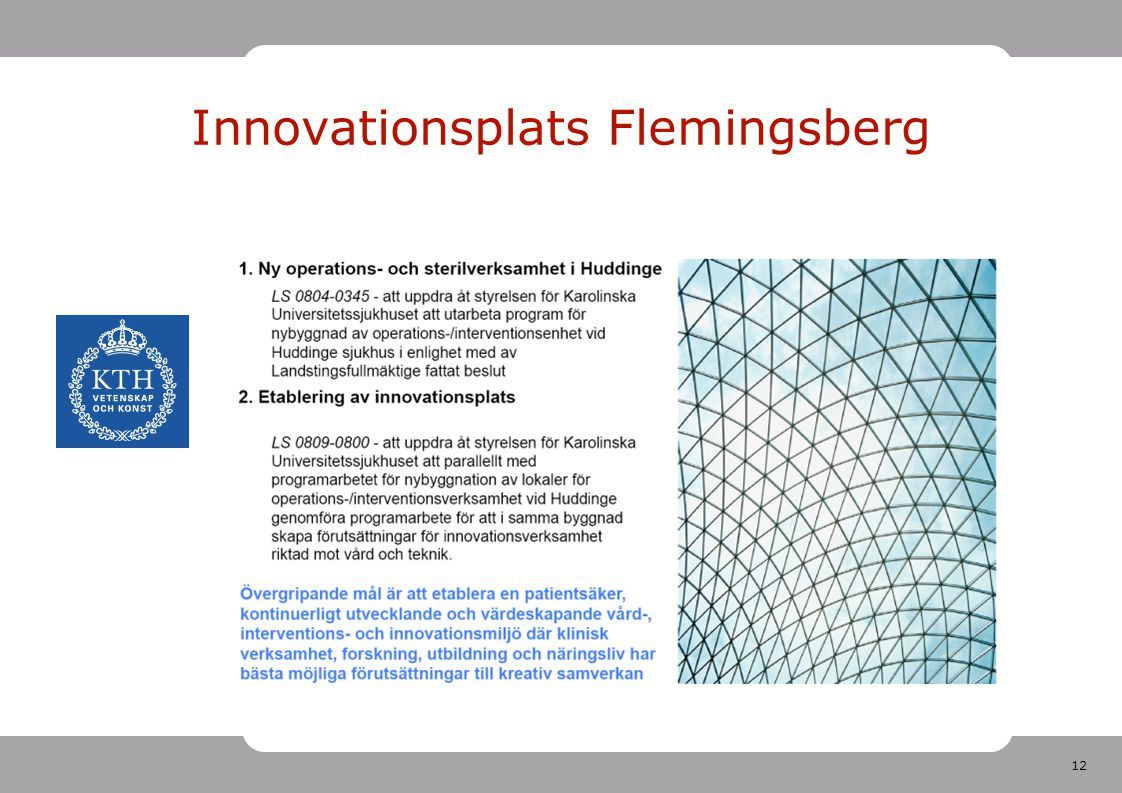 Innovationsplats Flemingsberg