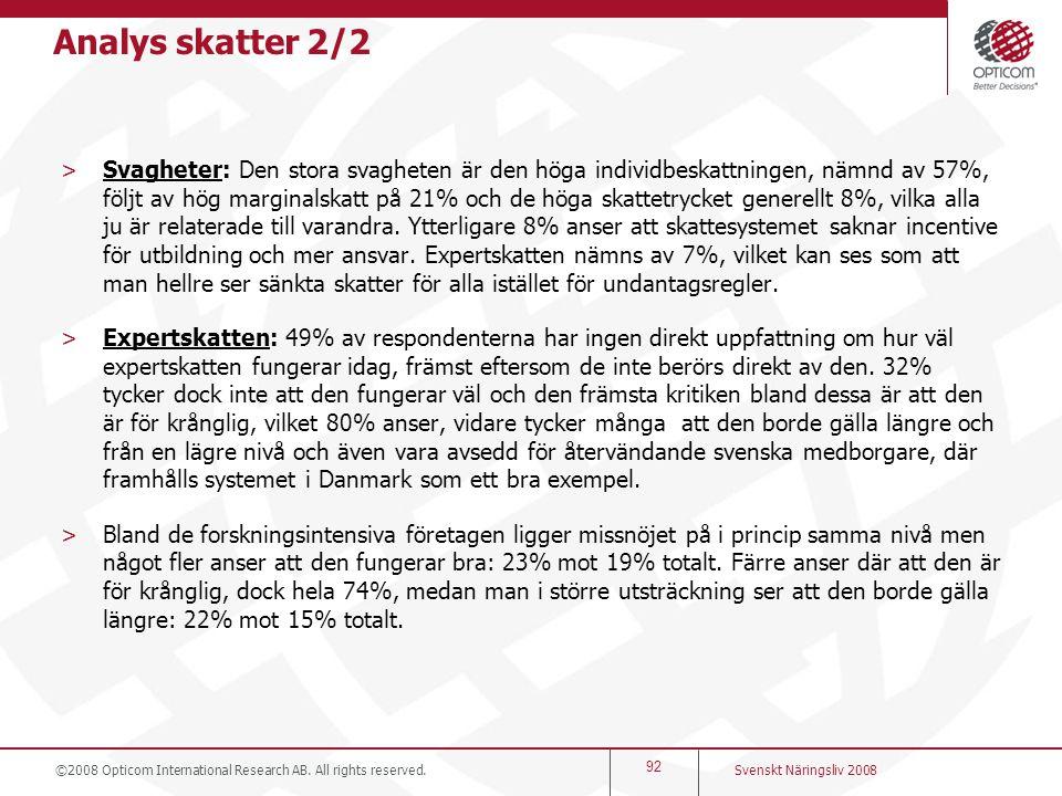 Analys skatter 2/2
