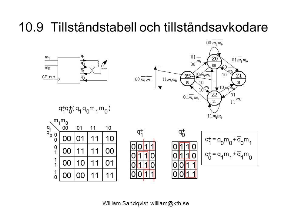 10.9 Tillståndstabell och tillståndsavkodare
