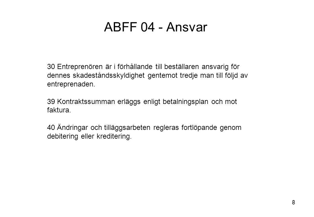 Titel: ABFF 04 - Ansvar.