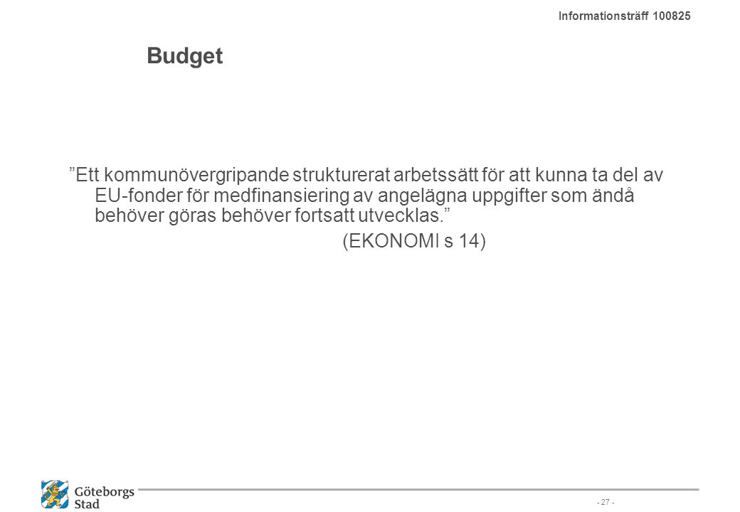Informationsträff 100825 Budget.