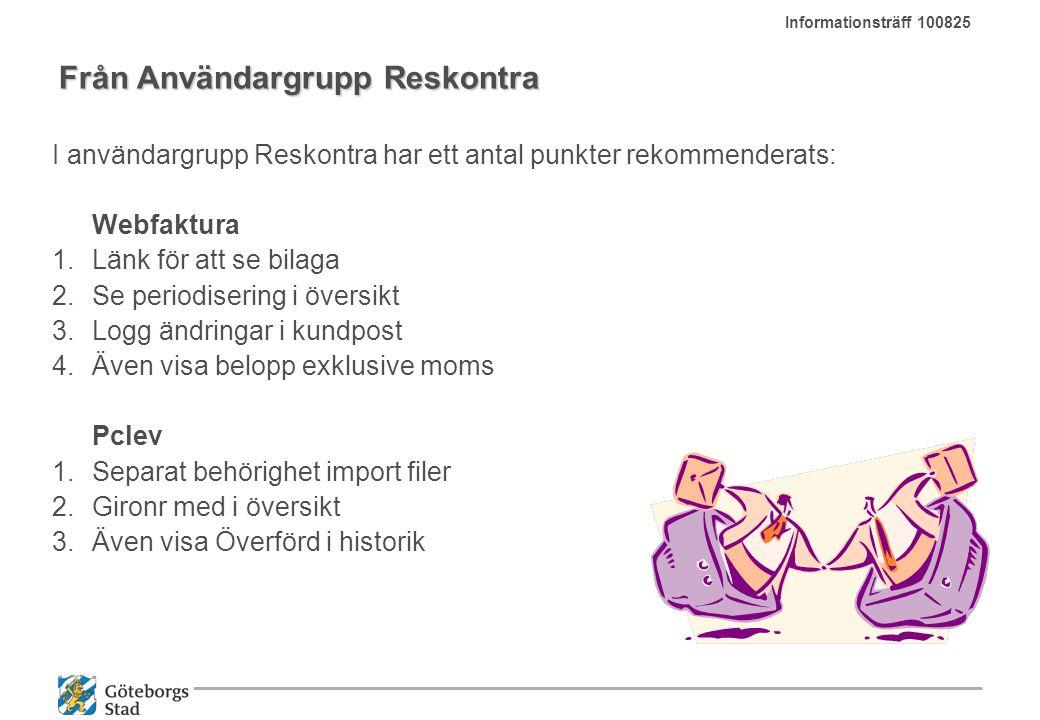 Från Användargrupp Reskontra