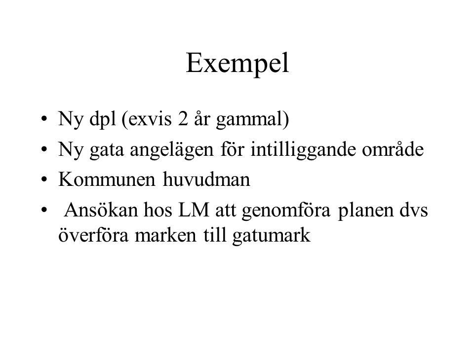 Exempel Ny dpl (exvis 2 år gammal)
