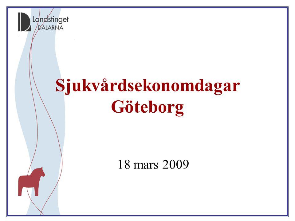 Sjukvårdsekonomdagar Göteborg