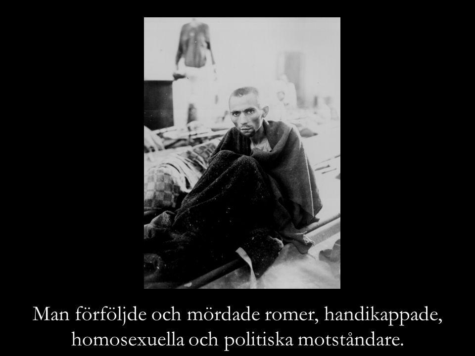Man förföljde och mördade romer, handikappade,