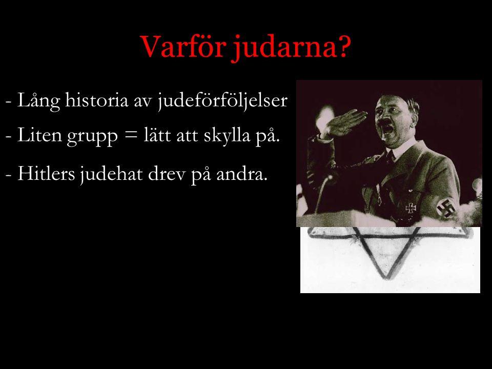 Varför judarna Lång historia av judeförföljelser