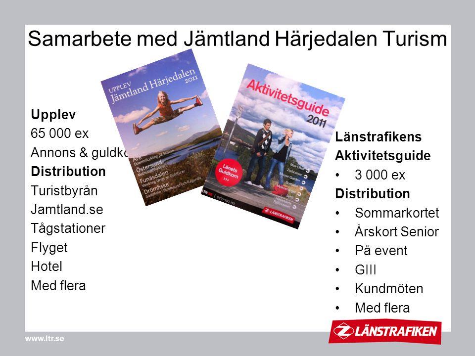 Samarbete med Jämtland Härjedalen Turism