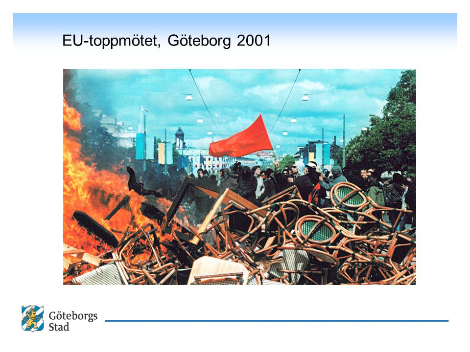 EU-toppmötet, Göteborg 2001