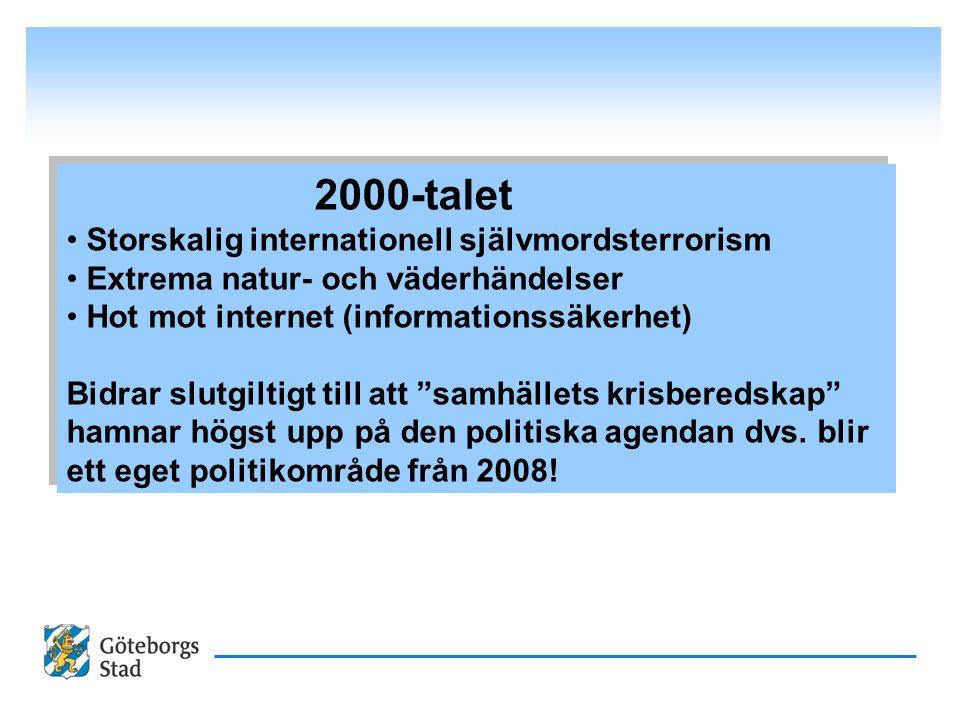 2000-talet Storskalig internationell självmordsterrorism