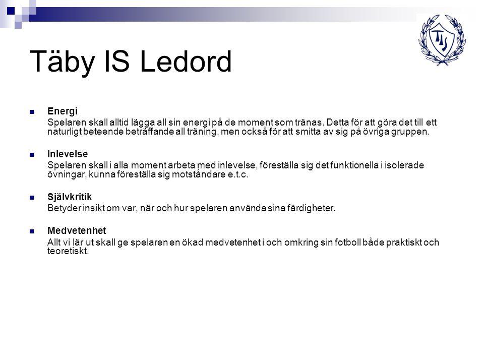 Täby IS Ledord Energi.