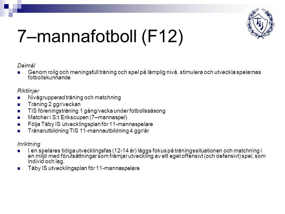 7–mannafotboll (F12) Delmål
