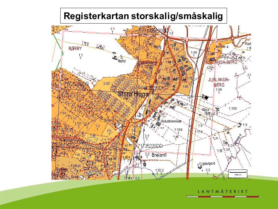 Registerkartan storskalig/småskalig