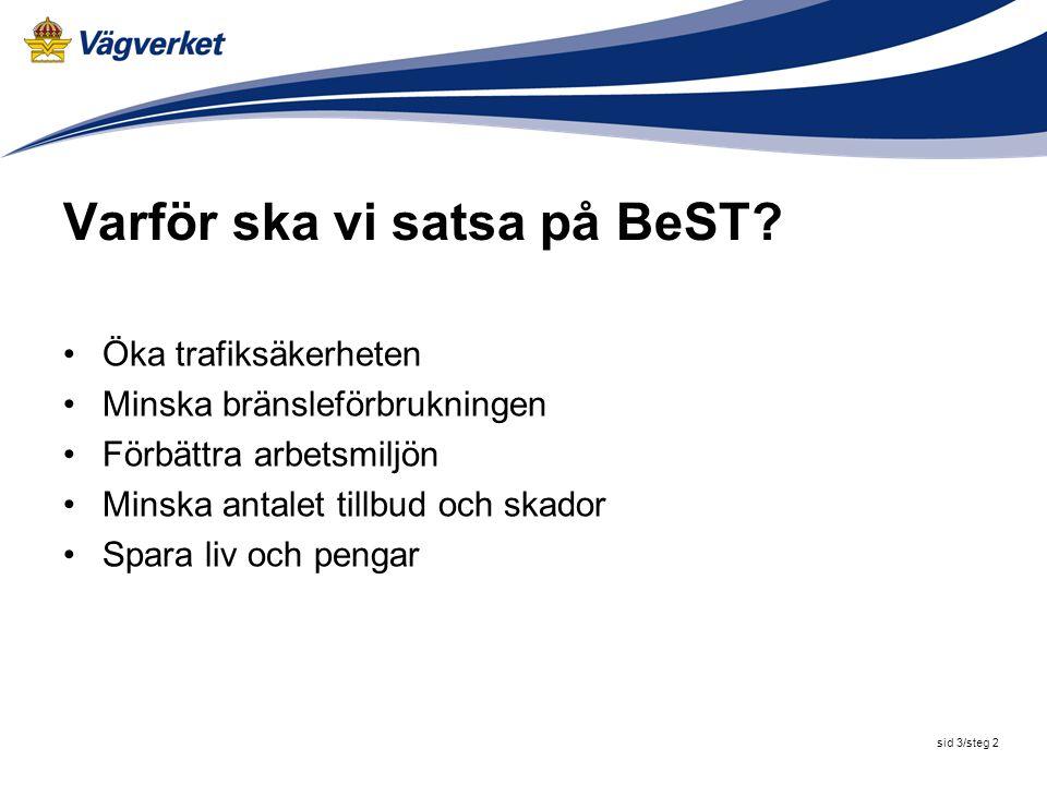 Varför ska vi satsa på BeST