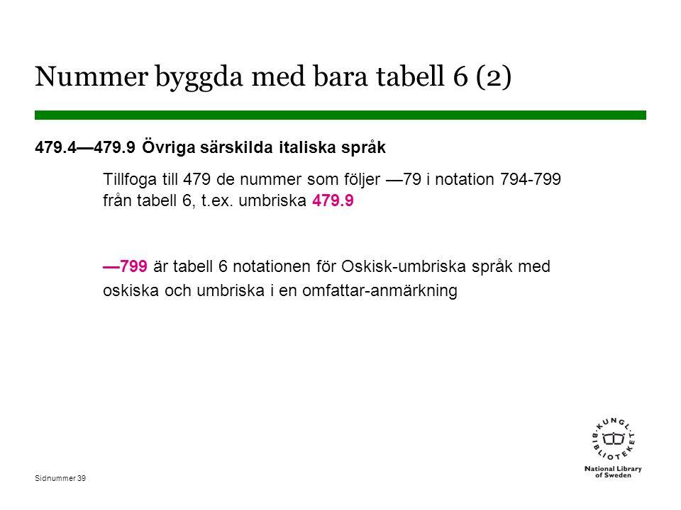 Nummer byggda med bara tabell 6 (2)