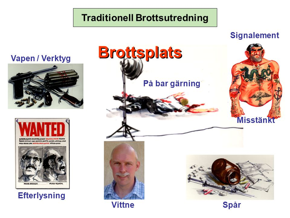 Traditionell Brottsutredning