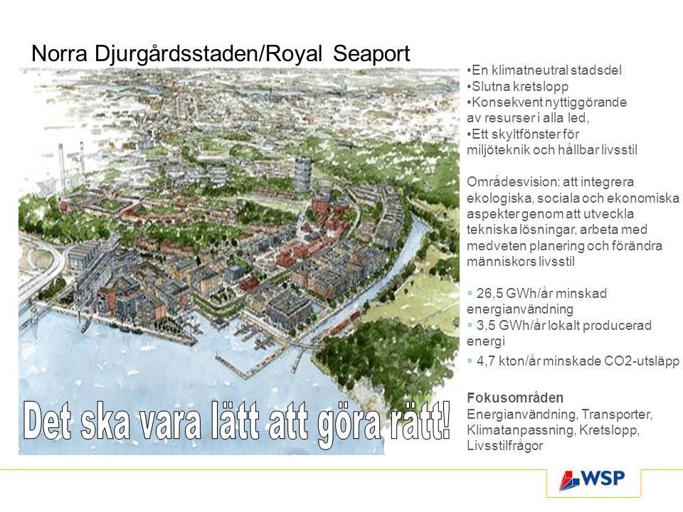 Norra Djurgårdsstaden/Royal Seaport