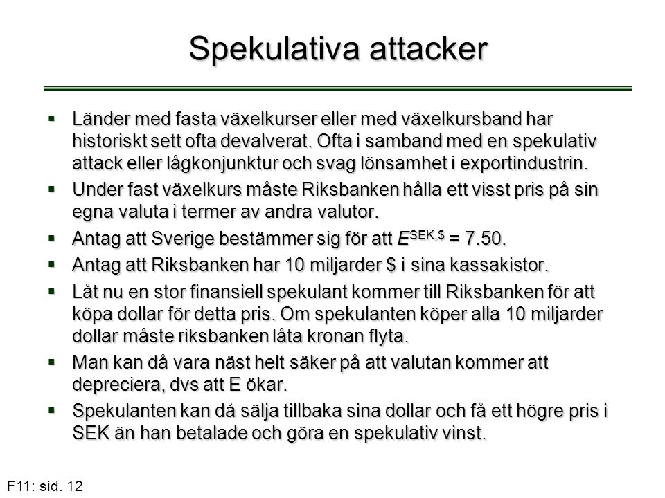Spekulativa attacker