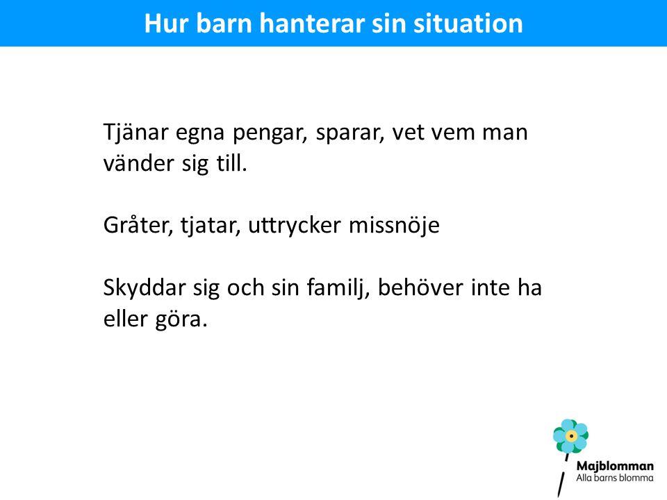 Hur barn hanterar sin situation