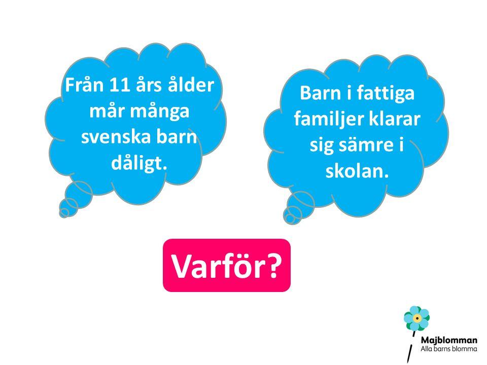 Varför Från 11 års ålder mår många svenska barn dåligt.