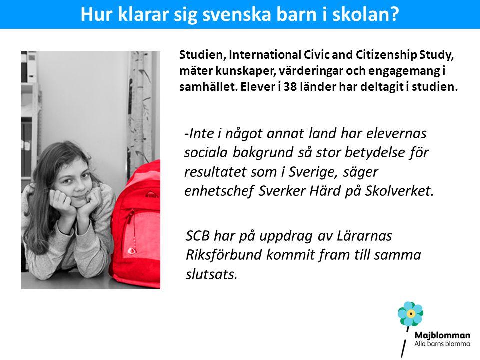 Hur klarar sig svenska barn i skolan