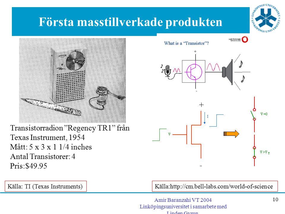 Första masstillverkade produkten