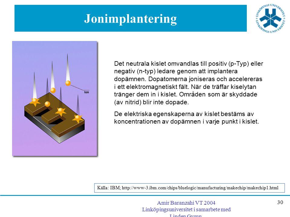 Jonimplantering