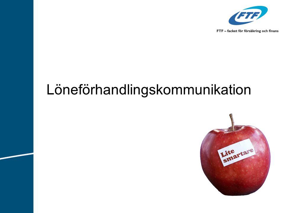 Löneförhandlingskommunikation