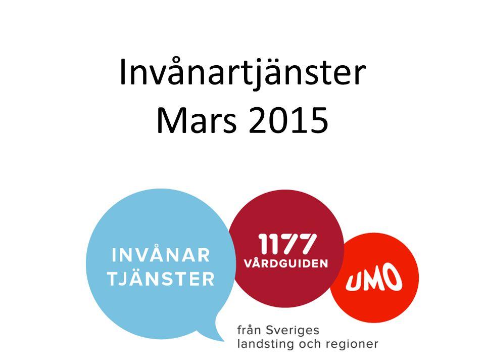 Invånartjänster Mars 2015