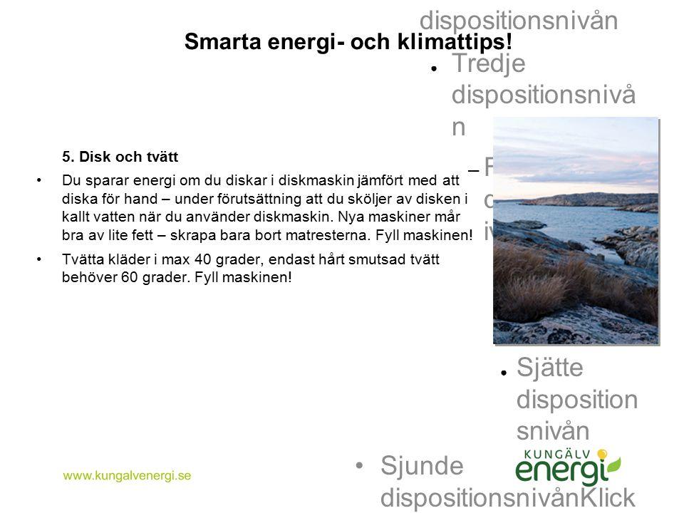Smarta energi- och klimattips!