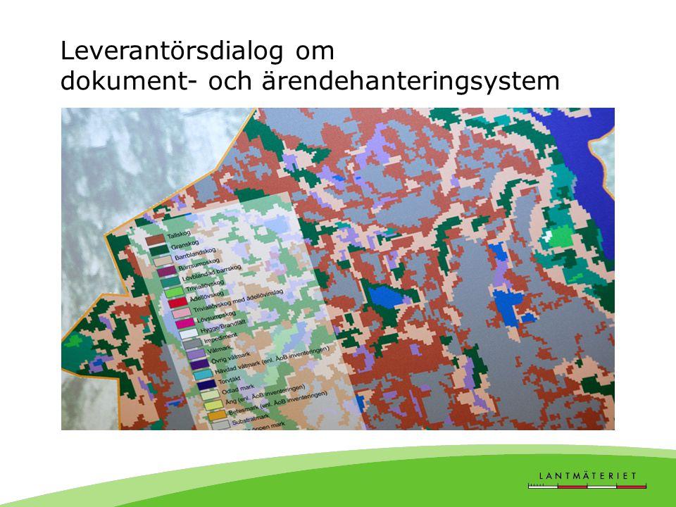 Leverantörsdialog om dokument- och ärendehanteringsystem