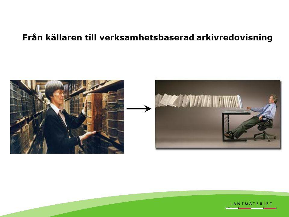 Från källaren till verksamhetsbaserad arkivredovisning