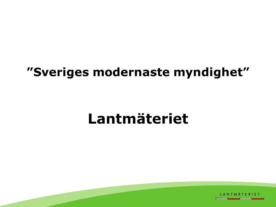 Sveriges modernaste myndighet