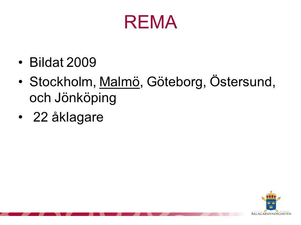 REMA Bildat 2009 Stockholm, Malmö, Göteborg, Östersund, och Jönköping
