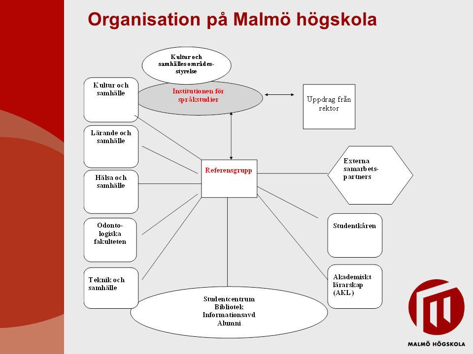 Organisation på Malmö högskola