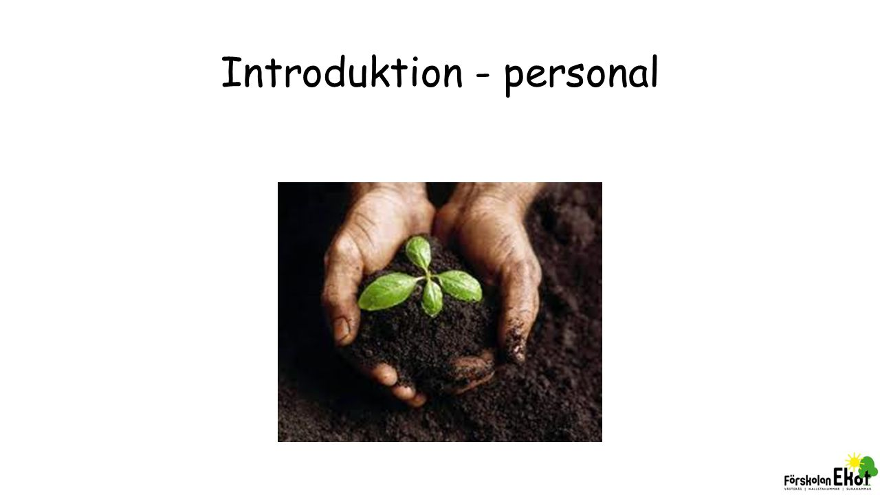 Introduktion - personal